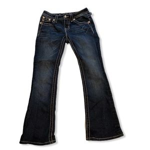 Miss Me mid rise boot cut jeans size 26
